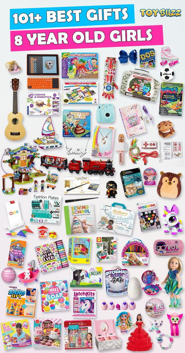 Gifts For 8 Year Old Girls 2019 - List of Best Toys | 8 ...