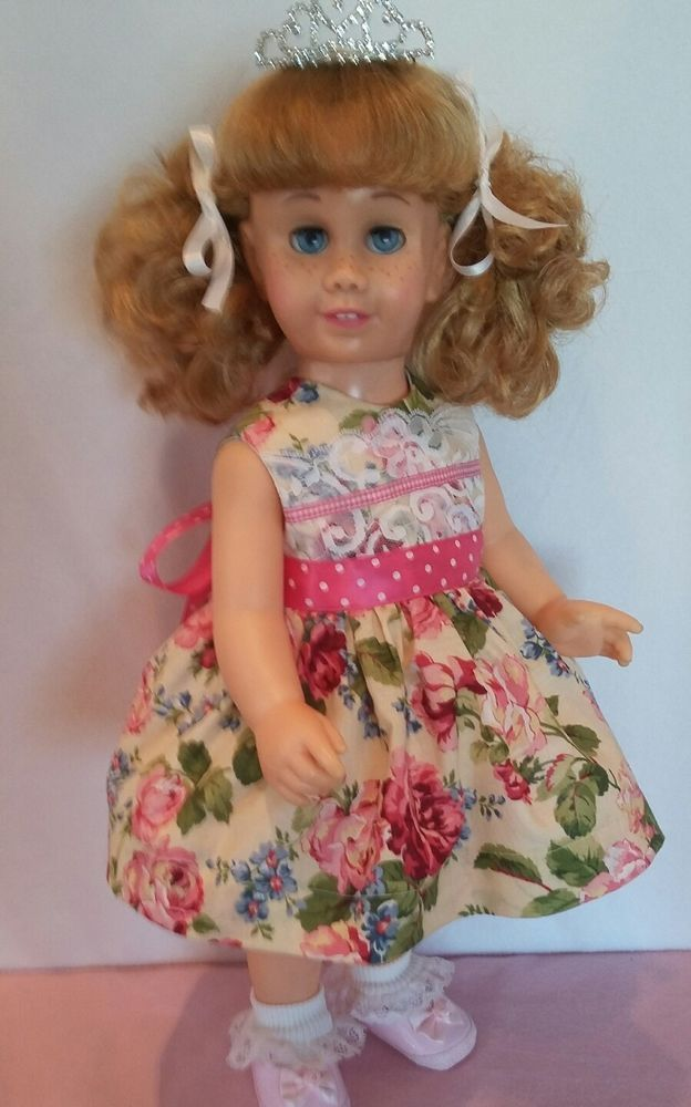 Vintage Chatty  Cathy doll. She talks. Blonde pigtails. | Dolls & Bears, Dolls, By Brand, Company, Character | eBay!