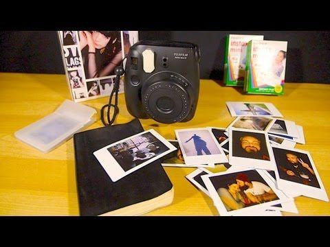 How To Take A Centered Photo With A Fujifilm Instax Mini Instant Film Camera - YouTube