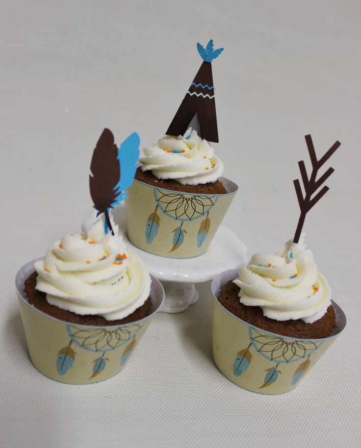 Boho Chic Cupcakes  Violeta Glace