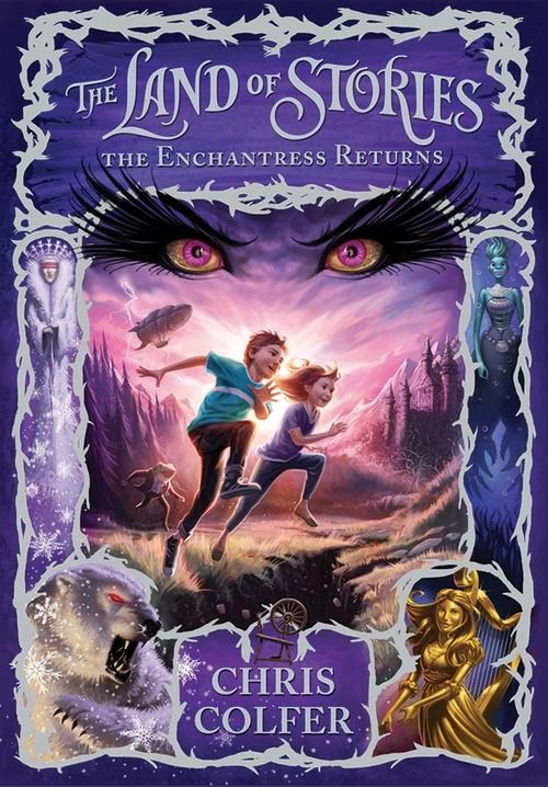 The Land of Stories: The Enchantress Returns by Chris Colfer. Sequel - Nice wee story based around the fairytale world and characters like Cinderella 7/10