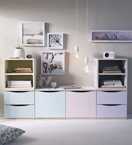 Guimauve ou cupcake... La tendance pastel s'invite partout dans la maison et surtout sur ce meuble qu'elle vient recouvrir de douceur. Une tendance à dévorer. http://www.castorama.fr/store/pages/idees-decoration-facile-renover-meubles.html