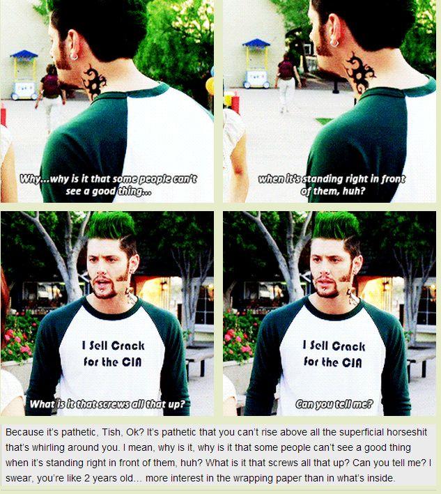 [GIFSET] Priestly tells Tish off- Jensen as Boaz Priestly in #TenInchHero #Jensen