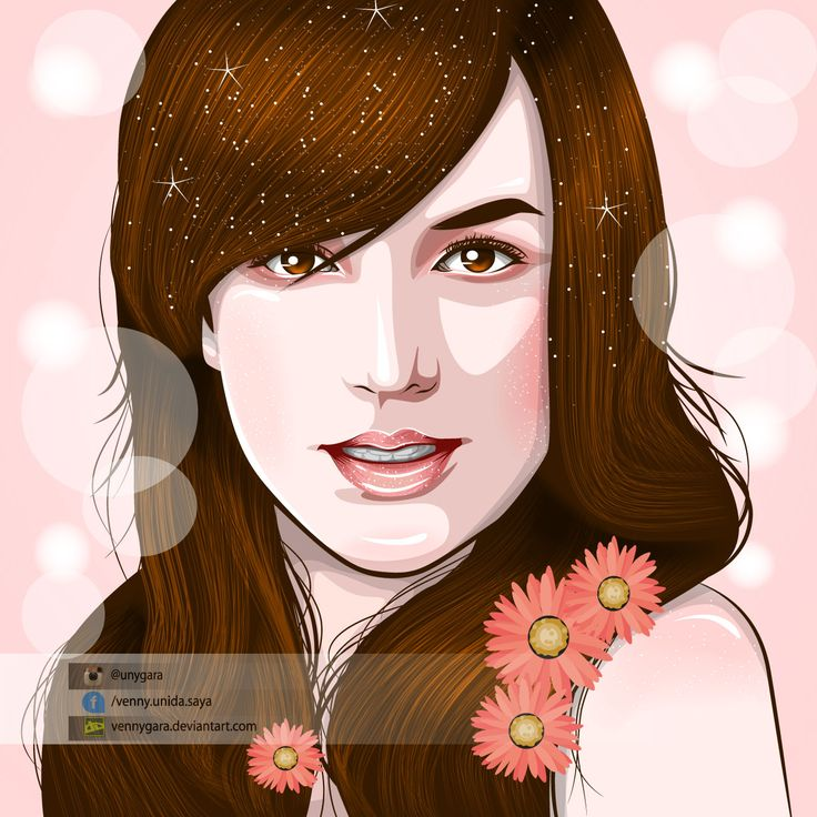 Birtney Spears made in Illustrator (Please visit my fiverr http://www.fiverr.com/s2/2d02a34dc7 , there's something special for my first buyer :) ) #illustration #vector #fanart #artwork #birtneyspears #smile #pink #beautiful #vektor #vexel