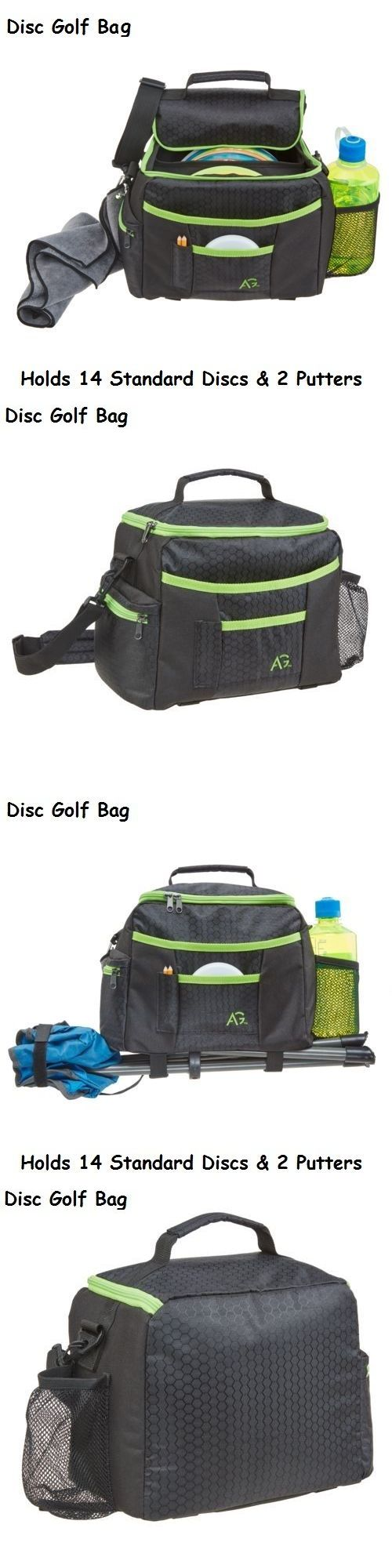 Disc Golf 20851: Disc Golf Frisbee Shoulder Carry Bag Black Outdoor Sports Discs Putter New -> BUY IT NOW ONLY: $34.97 on eBay!