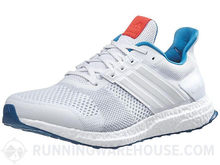 Adidas Ultra Boost ST Men\u0027s Shoes White/White/Chili