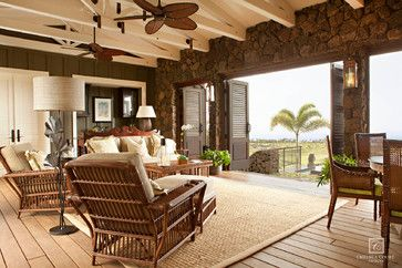 Hawaiian Island Plantation Style Custom Home
