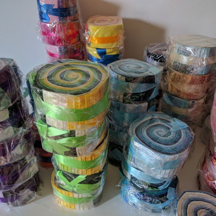 Jelly Rolls available now in a wide variety of colours more being listed over the weekend....stay tuned!