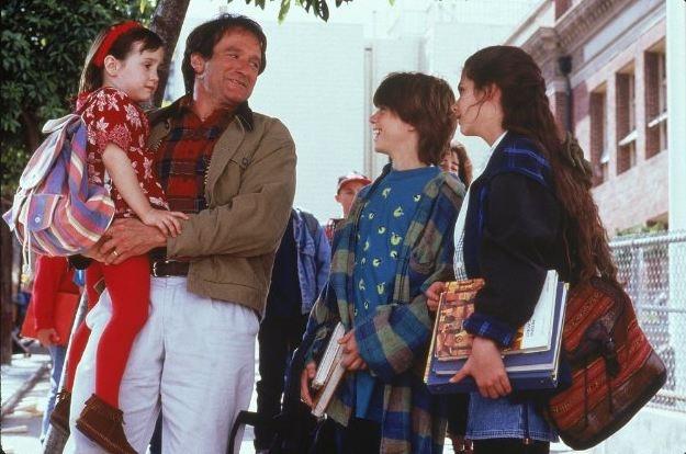 "Robin Williams in ""Mrs. Doubtfire"" (1993)"