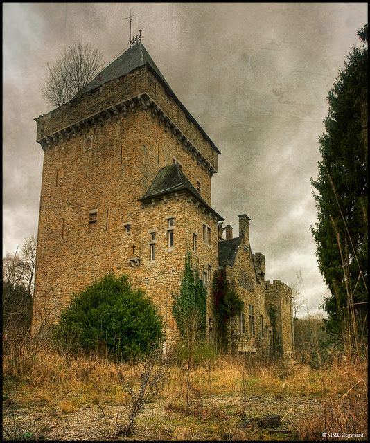 Beatuiful old castel Chateaus Ss by Martino NL, via Flickr This photo was taken on September 14, 2010.