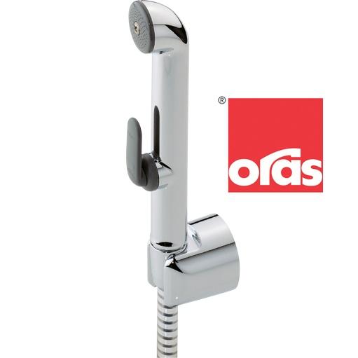 Handshower Oras Bidetta. A multipurpose hand shower for Oras washbasin faucets.