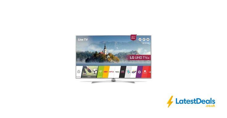 """LG 43UJ701V 43"""" Smart 4K Ultra HD HDR LED TV Currys/eBay Free Delivery, £399 http://mytvs.co.uk/4k-ultra-hd-tv/"""