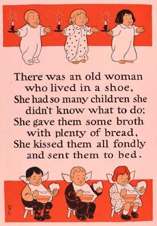 There Was An Old Lady She Lived In A Shoe