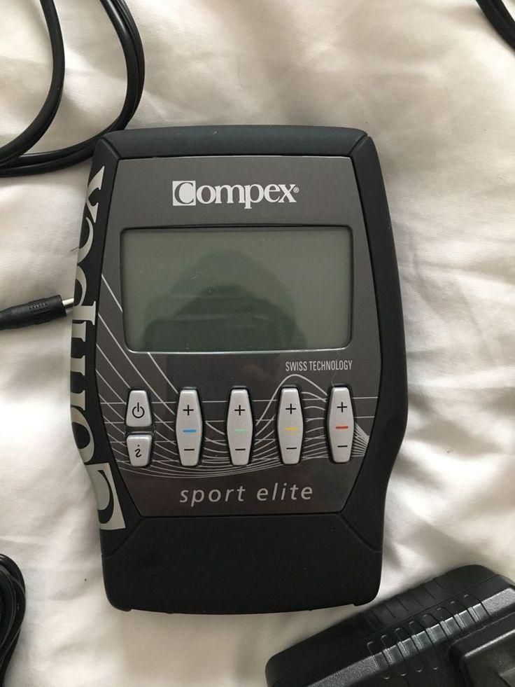 Compex Sport Elite Muscle Stimulator Muscle stimulator