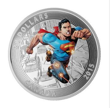 Celebrate the iconic art of Superman™ comics since they began in 1938 with a 1 oz 2015 Royal Canadian Mint Superman™ Comic Book Covers fine silver coin - great gift for coin collectors and Superman™ fans alike. With a limited worldwide mintage of only 10000 they won't last long. Visit www.SilverGoldBull.com for more information.