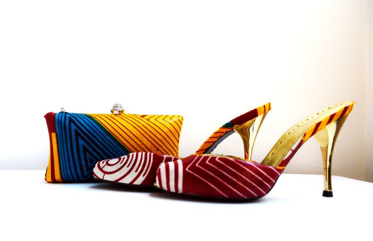 Red Party Slippers, Gift For Her - Zabba Designs African Clothing Store  - 4