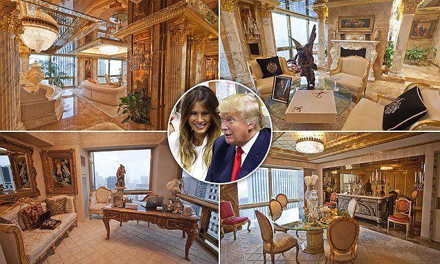 Peep the Insides of Donald Trump's $100m penthouse «