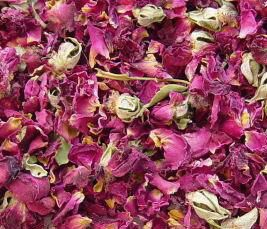 5 Cups ORGANIC Dried ROSE Petals and Buds, Wedding Toss, Bath & Soap Supplies, Sachets on Etsy, $5.99