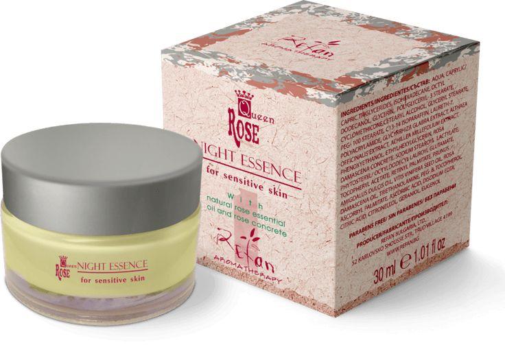 Crema de noapte Refan Queen Rose este bogata in vitaminele A si E ce regenereaza zonele cu probleme ale pielii si readuce la normalitate functiile acesteia.  Detalii: https://goo.gl/cfF77T