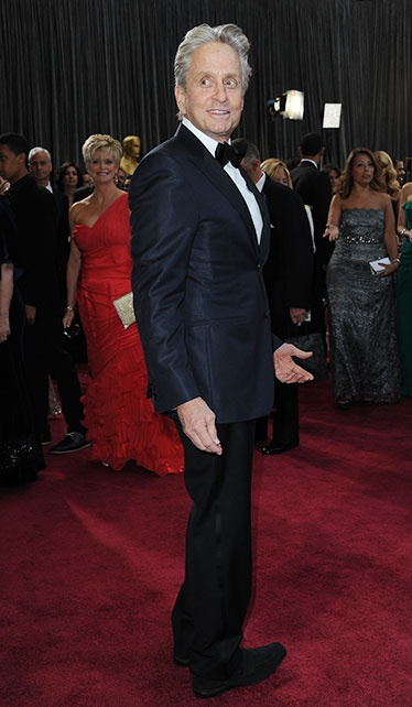 The Best Dressed Men of the 2013 Academy Awards, Michael Douglas