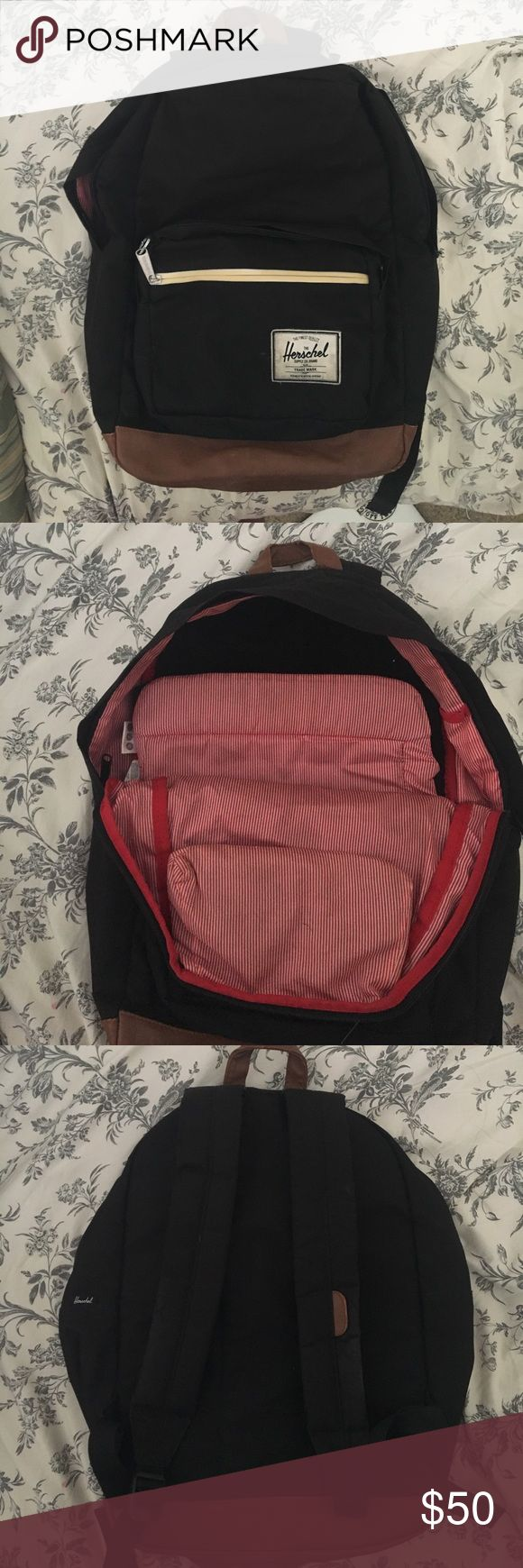 Herschel backpack Lightly used with some wear. Used it while in college and it has a pocket for your laptop with padding. Price is negotiable Herschel Supply Company Bags Backpacks
