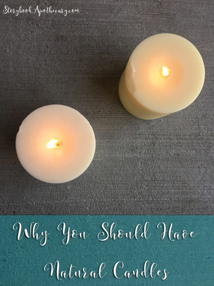 why you should have natural candles