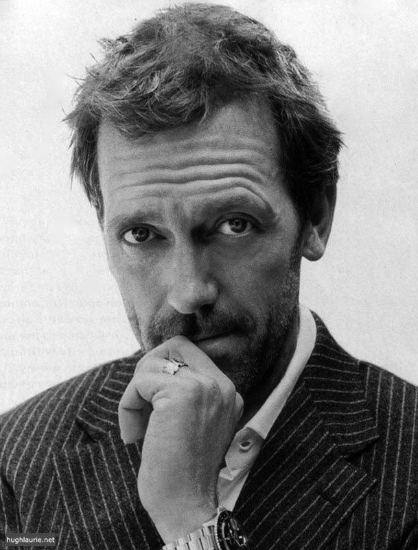 Hugh Laurie, English actor, voice artist, comedian, writer, musician, recording artist, and director