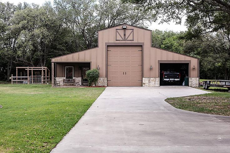 Metal barn with living quarters texas google search for Metal houses texas