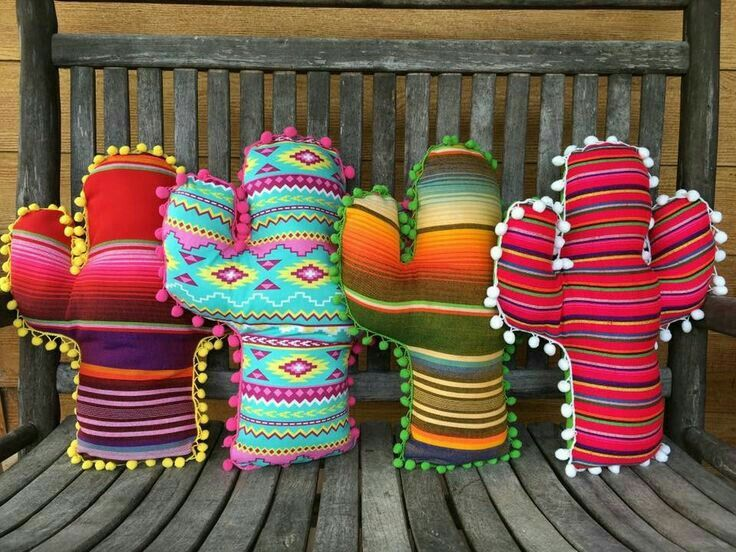 Cactus Serape Pillows