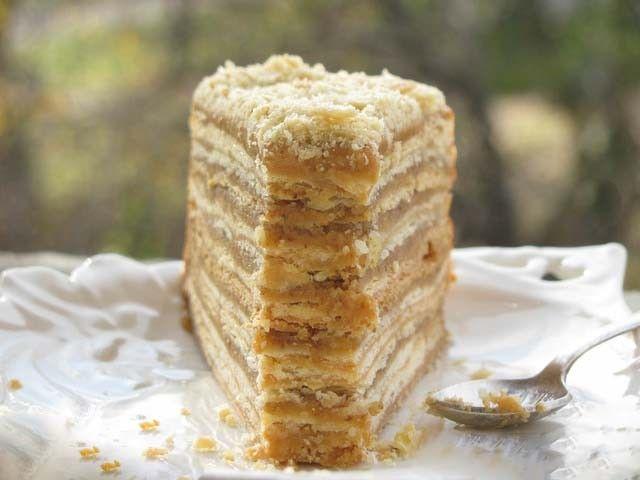 Karamelový dort - 1000 vrstev