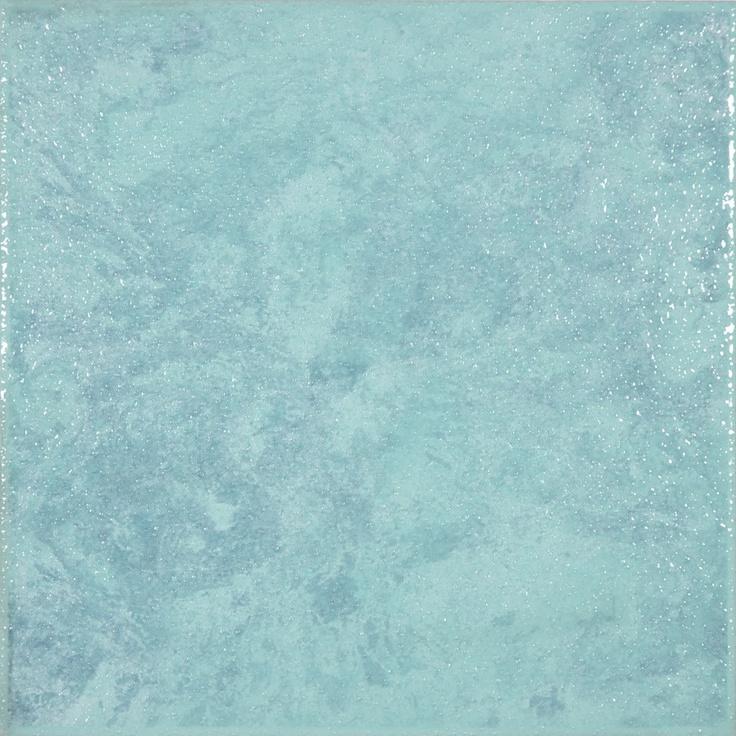 8 Quot X8 Quot Londra Turquoise Floor Tile Laundry Room
