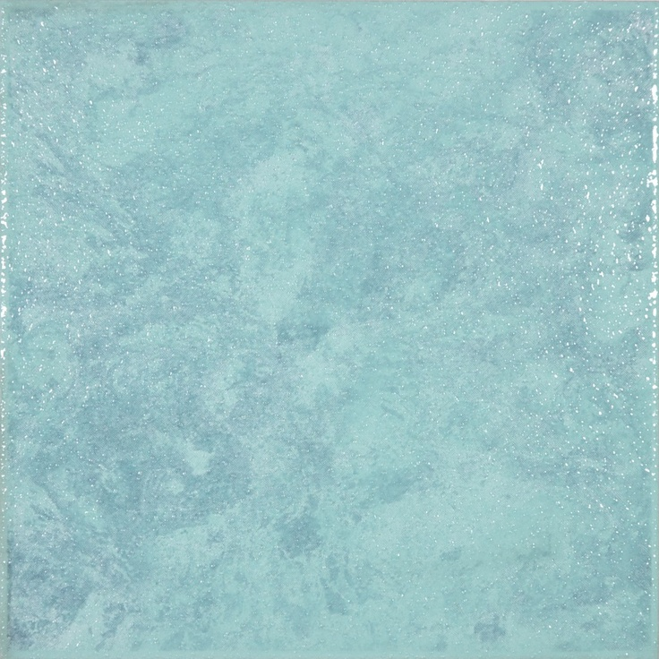 8 x8 londra turquoise floor tile laundry room - Turquoise bathroom floor tiles ...