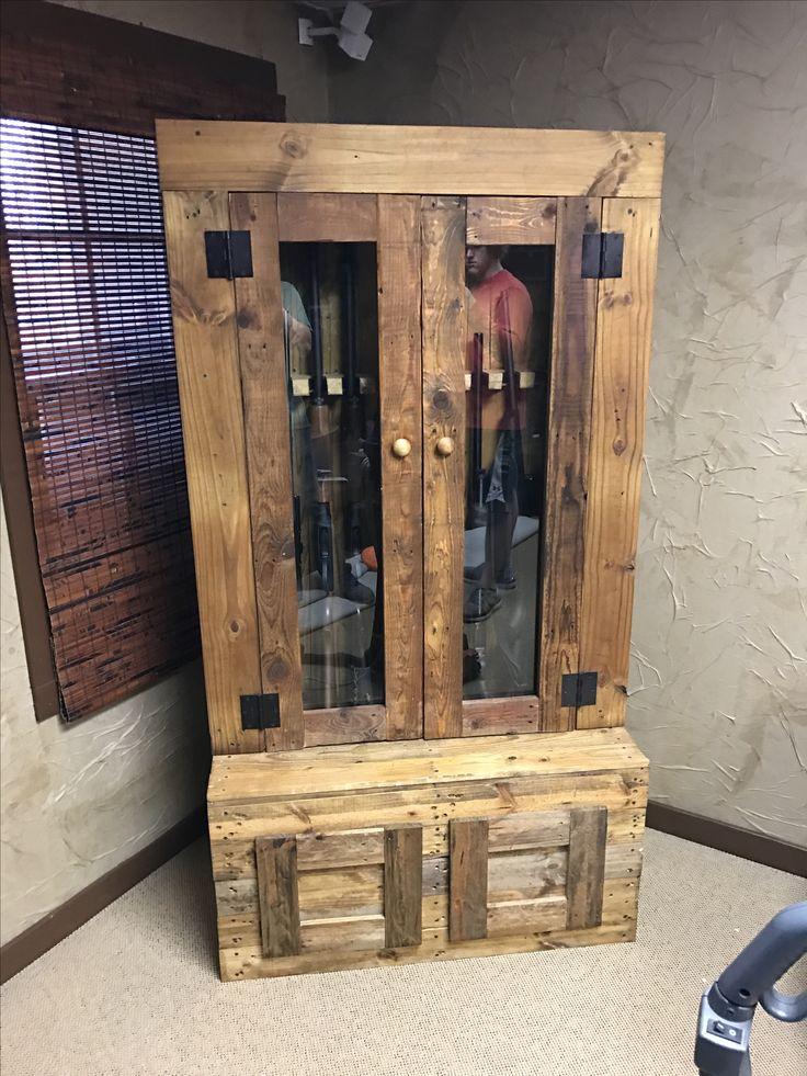 25+ unique Gun cabinets ideas on Pinterest   Gun safe diy ...