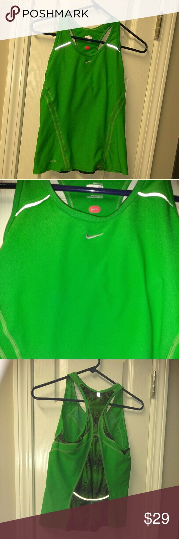 Nike workout shirt Super cute for any kind of work out.  Perfect condition. Nike Tops Tank Tops