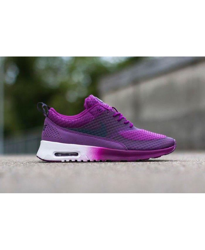 Nike Air Max Thea Purple White Trainer Schoenen n KadesAir Schoenen n Kades Air