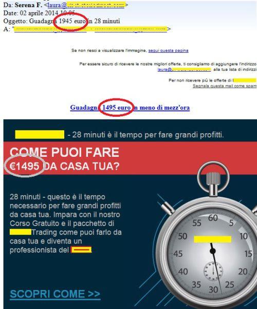 Quando il mail marketing è peggio del phishing maldestro