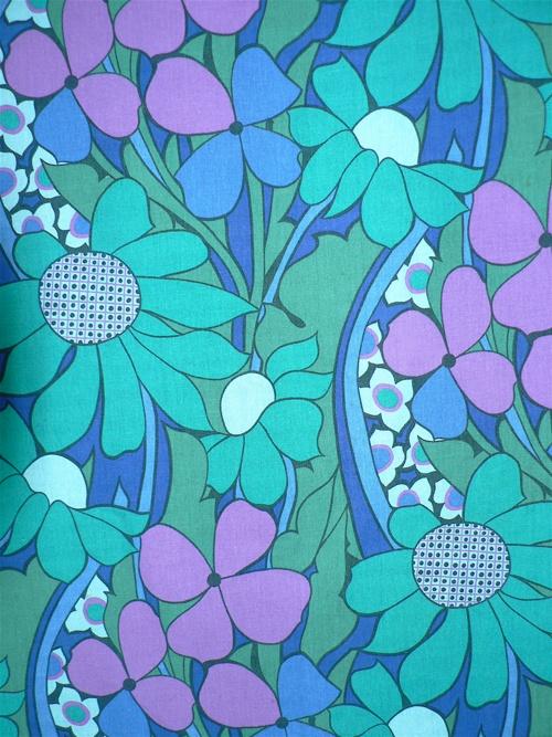 Hanging Gardens Vintage Fabric