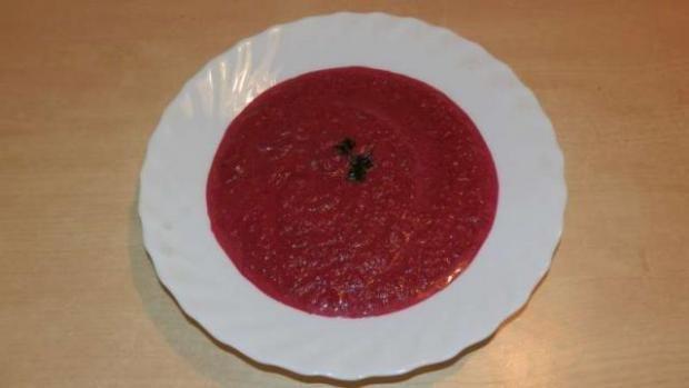 Polievka z červenej repy (cvikle), Polievky, recept | Naničmama.sk