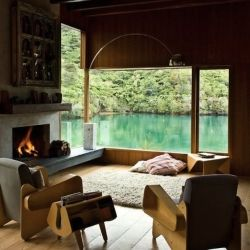 Best Beautifuly Unordinary Images On Pinterest Architecture - An amazingly beautiful modern waterfront house from new zealand