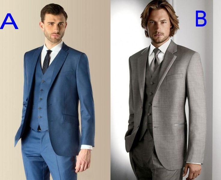 Suit Jacket Handsome 2016 Custom Made #Groom Tuxedos# Groomsmen Best Man Suit Wedding Groomsman/Men Suits BridegroomJacket+Pants+Tie+Vest 10 Style Wedding Suit
