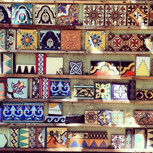 Gorgeous tiles spotted in Malibu