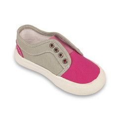 Soul (Grey/Hot Pink) Canvas Shoe