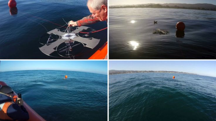 Aqua Quad Drone is a solar-powered sub-hunter