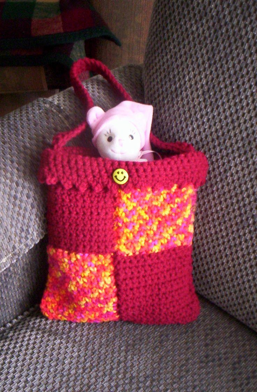 Little girl's stash bag.