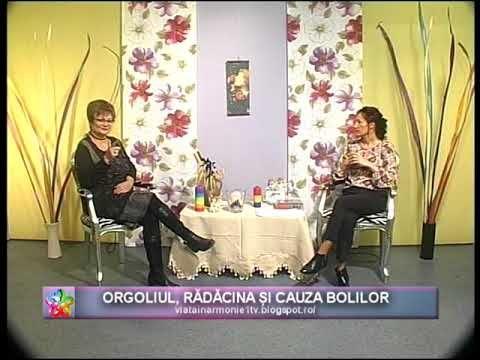 VIATA IN ARMONIE - GEORGIANA VASILESCU - ORGOLIUL RADACINA SI CAUZA BOLI...