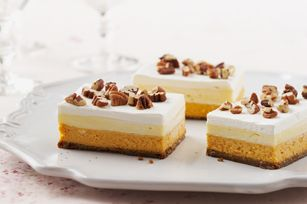 Layered Pumpkin Dessert Recipe - Kraft Recipes
