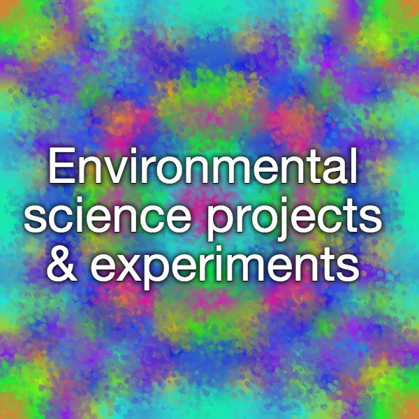 Environmental science projects & experiments