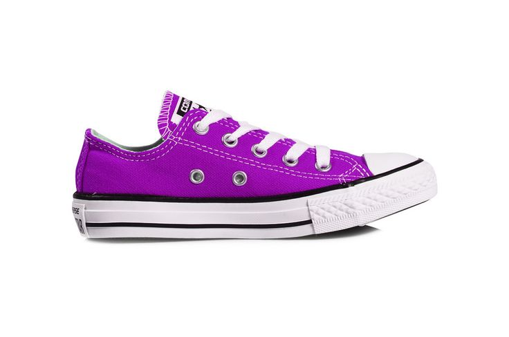Image of Converse low tops - magenta