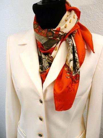 Hermes Scarf Men Necktie Patterns
