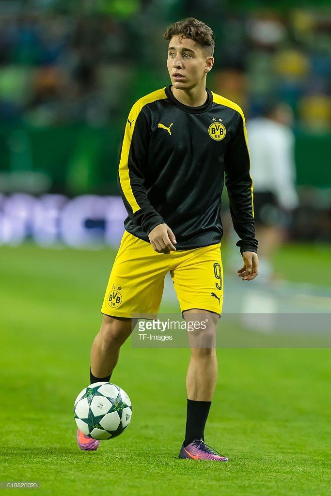 Lissabon, Portugal , UEFA Champions League - 2016/17 Season, Group F - Matchday 3, Sporting Lisbon - BV Borussia Dortmund, Emre Mor